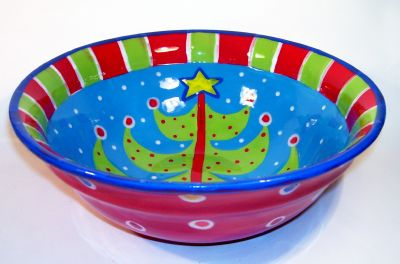 Merry Christmas Plates and Bowls